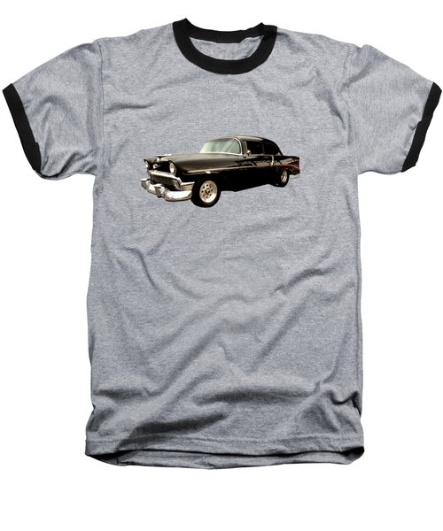 Stormy Chevy At Roys On Route 66 Baseball T-Shirt