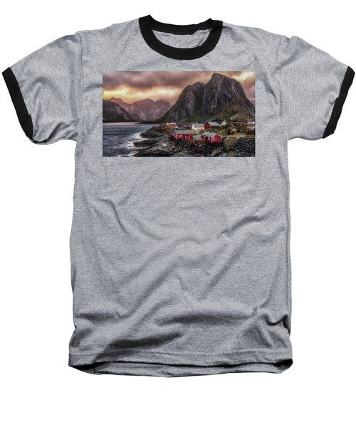 Stormy Hamnoy Baseball T-Shirt
