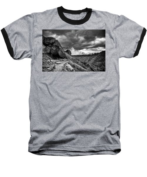Stormy Misery Ridge  Baseball T-Shirt