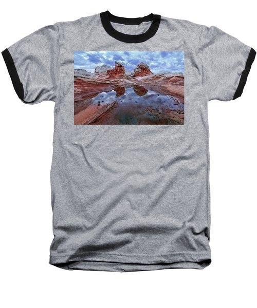 Stormy Reflection Baseball T-Shirt