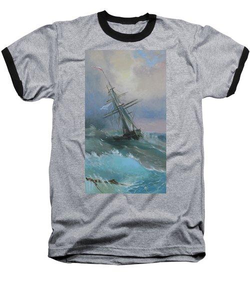 Stormy Sails Baseball T-Shirt