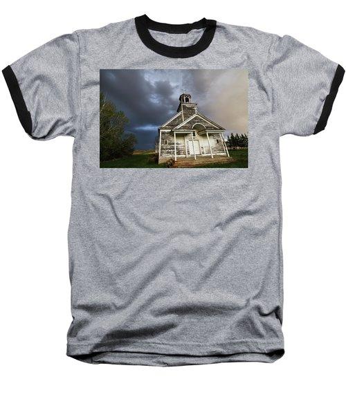 Stormy Sk Church Baseball T-Shirt