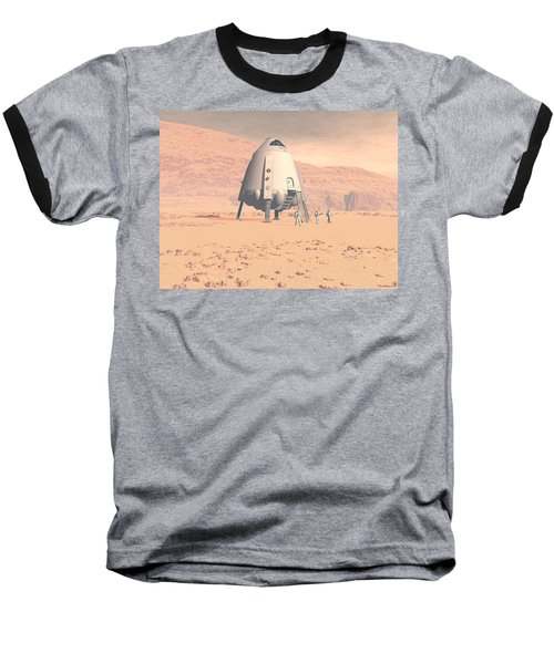 Stormy Skies Baseball T-Shirt by David Robinson