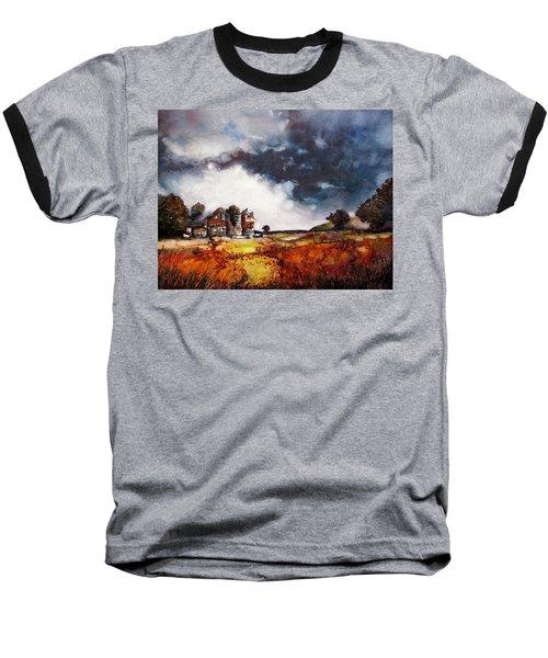 Stormy Skies Baseball T-Shirt