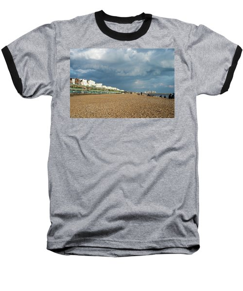 Stormy Skies Baseball T-Shirt