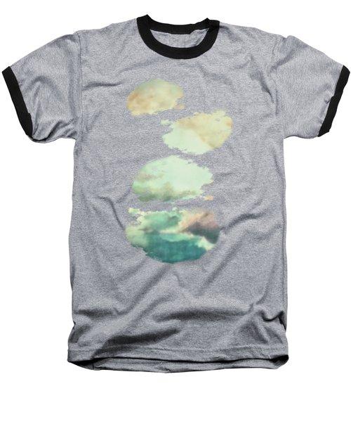 Stormy Sky Baseball T-Shirt by AugenWerk Susann Serfezi