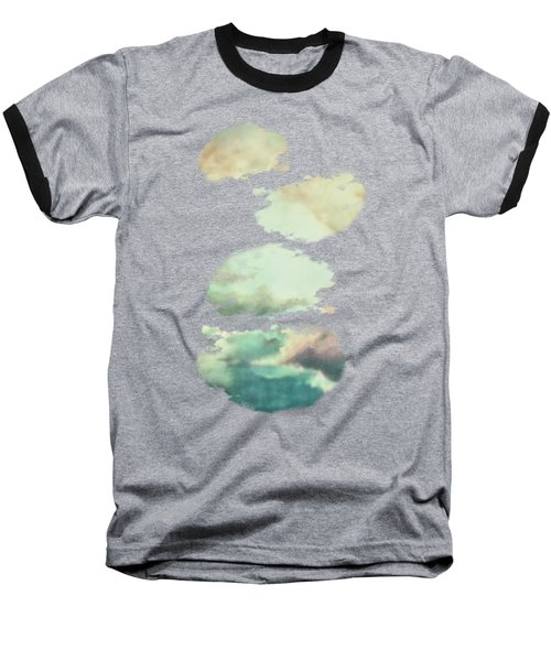 Stormy Sky Baseball T-Shirt