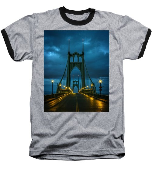 Stormy St. Johns Baseball T-Shirt by Wes and Dotty Weber