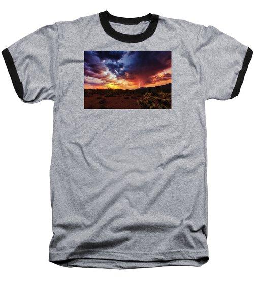 Stormy Twilight Baseball T-Shirt