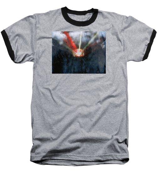 Stormy Weather Baseball T-Shirt by Nick Kloepping