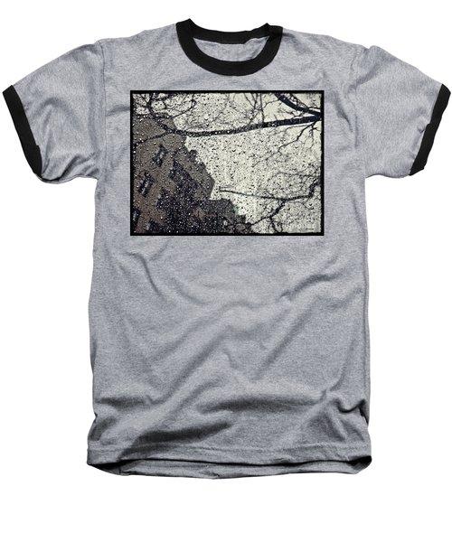 Stormy Weather Baseball T-Shirt by Sarah Loft
