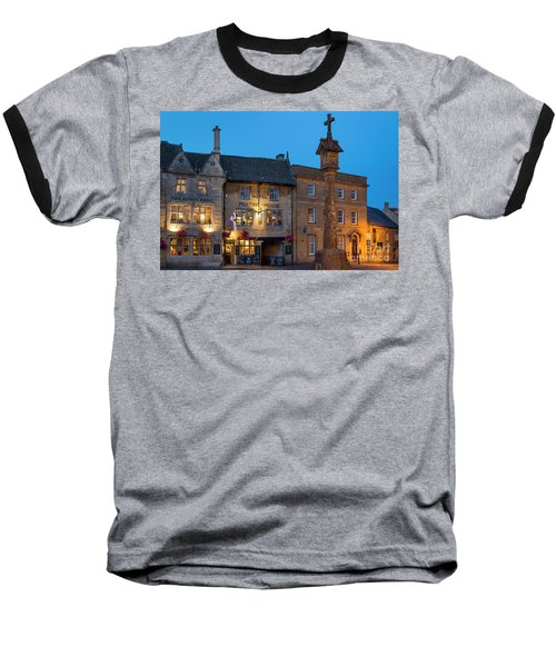 Baseball T-Shirt featuring the photograph Stow On The Wold - Twilight by Brian Jannsen