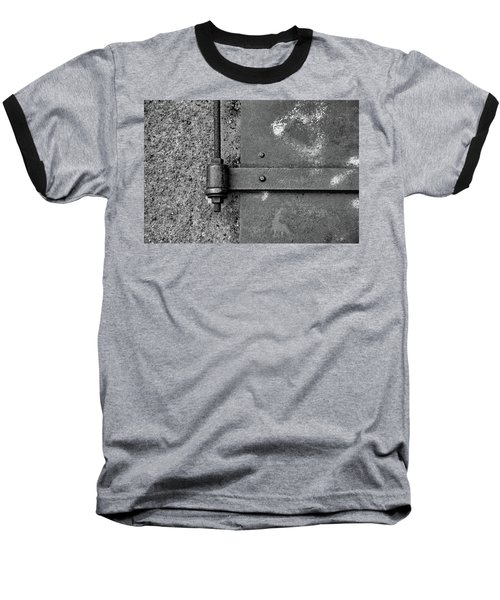 Baseball T-Shirt featuring the photograph Straight Metal by Karol Livote