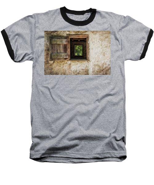 Straight Through Baseball T-Shirt