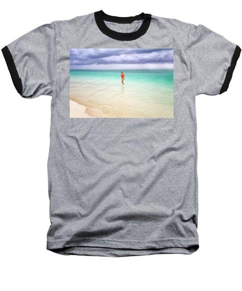 Stranded Baseball T-Shirt by Nicki Frates