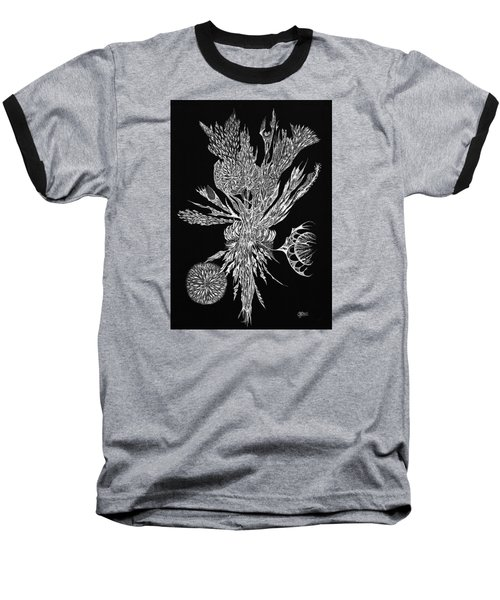Bouquet Of Curiosity Baseball T-Shirt by Charles Cater