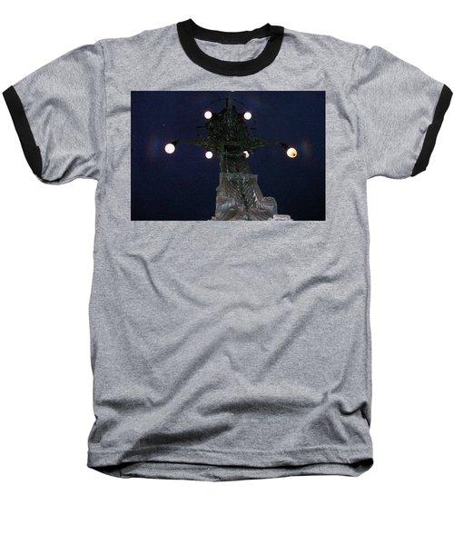 Strange Eyes Baseball T-Shirt