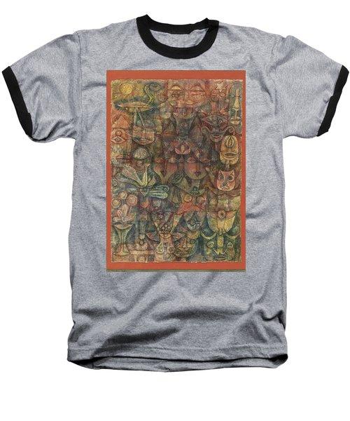 Strange Garden Baseball T-Shirt