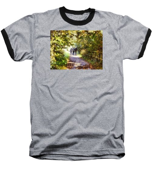 Strangers On A Footpath / In To The Light Baseball T-Shirt