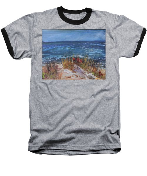Strangers On The Shore Baseball T-Shirt