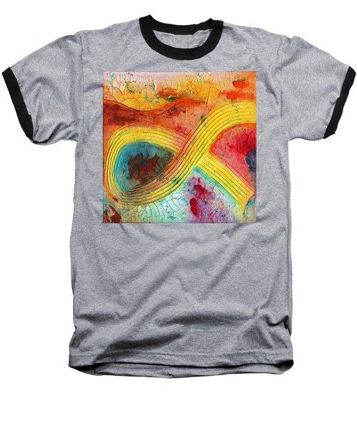 Strangulation Baseball T-Shirt by Phil Strang