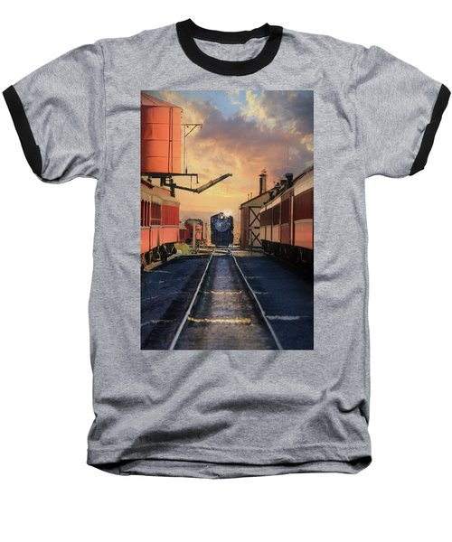 Baseball T-Shirt featuring the photograph Strasburg Railroad Station by Lori Deiter