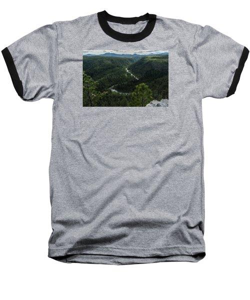 Stratobowl Overlook On Spring Creek Baseball T-Shirt