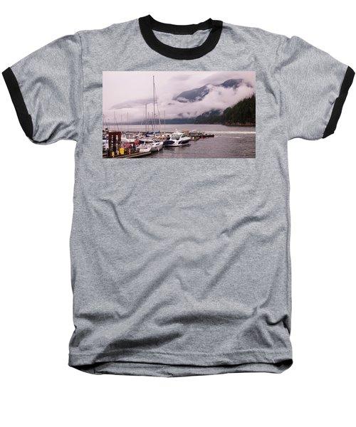 Stratus Clouds Over Horseshoe Bay Baseball T-Shirt