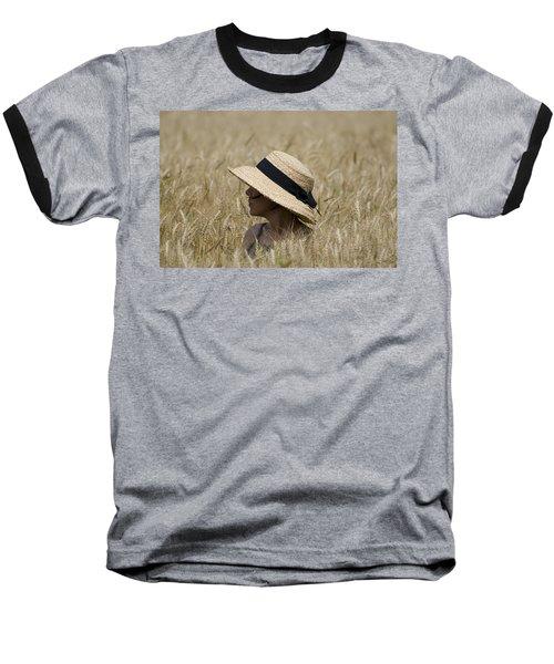 Straw Hat Baseball T-Shirt