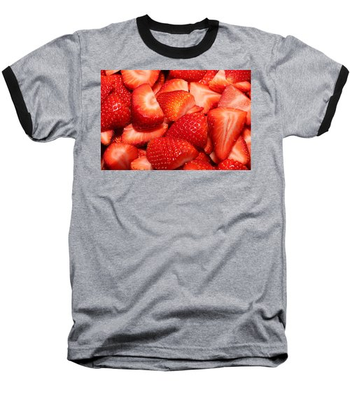 Strawberries 32 Baseball T-Shirt