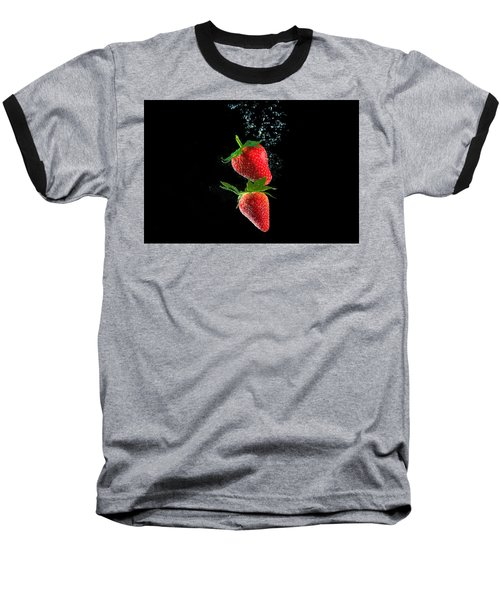 Strawberry Falls Baseball T-Shirt