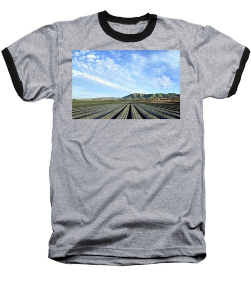 Baseball T-Shirt featuring the photograph Strawberry Fields Forever 2 by Floyd Snyder