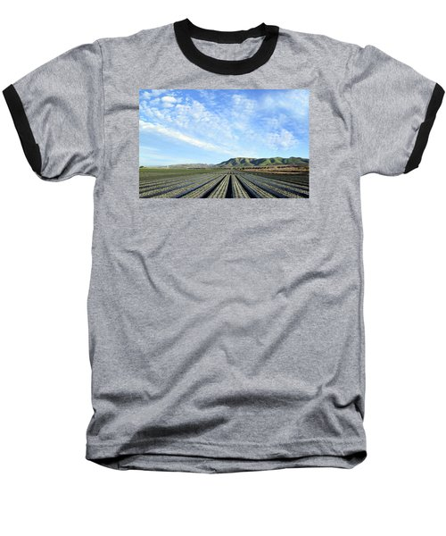 Baseball T-Shirt featuring the photograph Strawberry Fields Forever 3 by Floyd Snyder