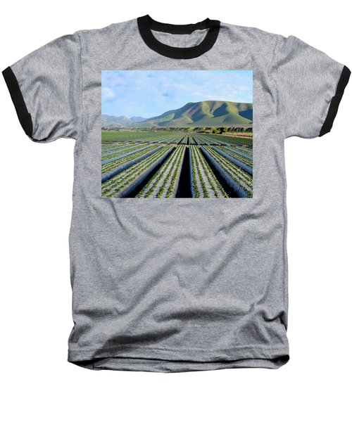 Baseball T-Shirt featuring the photograph Strawberry Fields Forever by Floyd Snyder