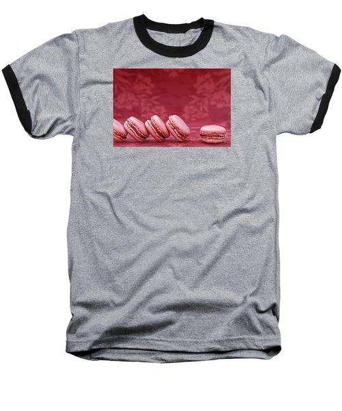 Strawberry Macarons Baseball T-Shirt