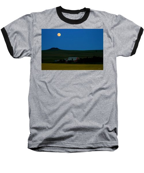 Strawberry Moon Baseball T-Shirt