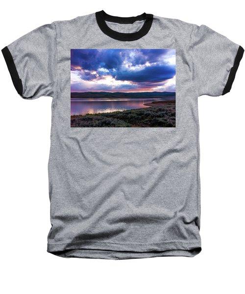 Strawberry Sunset Baseball T-Shirt