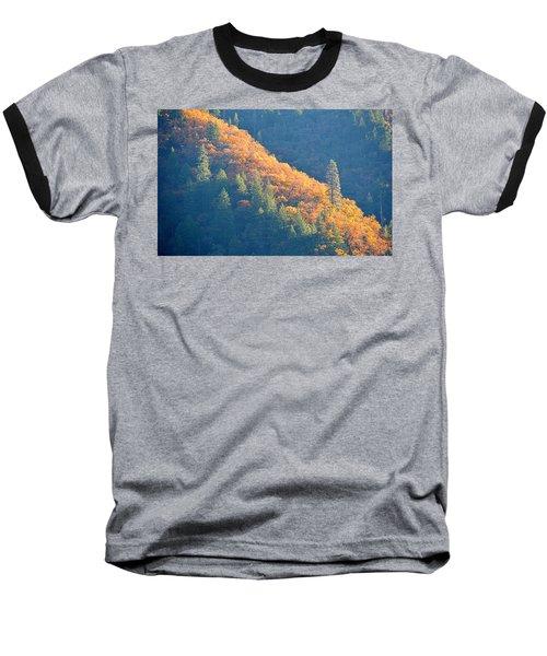 Baseball T-Shirt featuring the photograph Streak Of Gold by AJ Schibig
