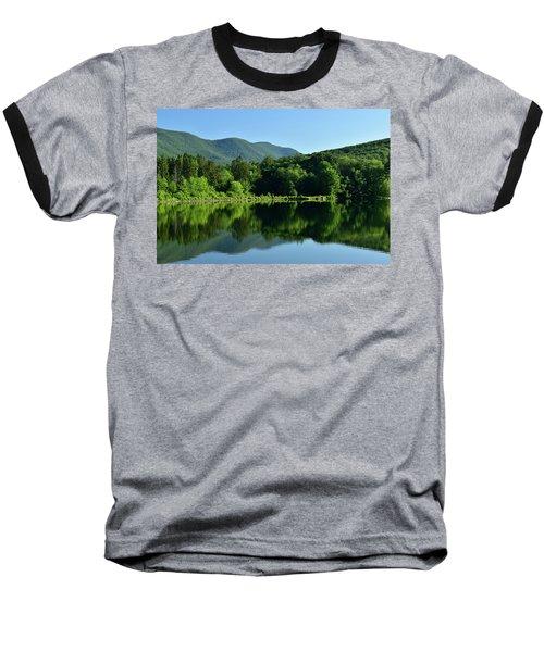 Streak Of Light At The Lake Baseball T-Shirt
