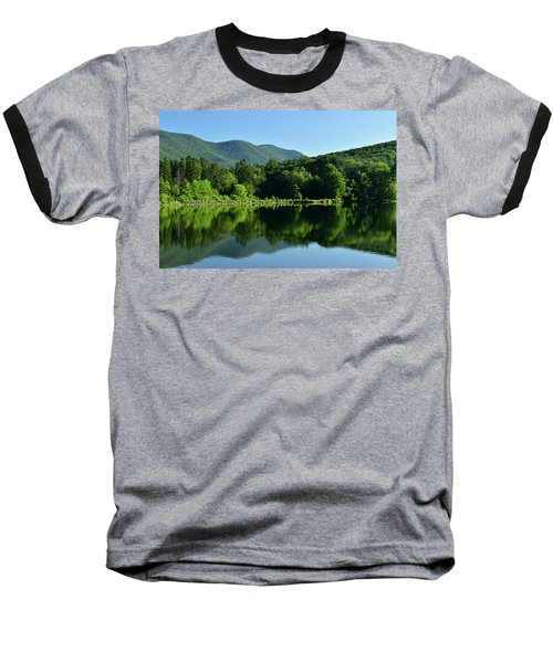 Streak Of Light At The Lake Baseball T-Shirt