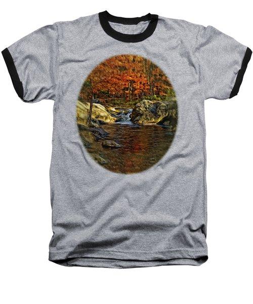 Stream In Autumn 57 In Oil Baseball T-Shirt