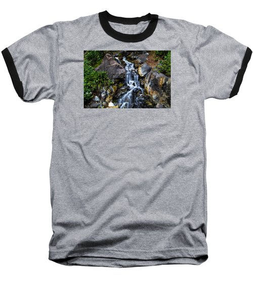 Baseball T-Shirt featuring the photograph Stream by Keith Hawley
