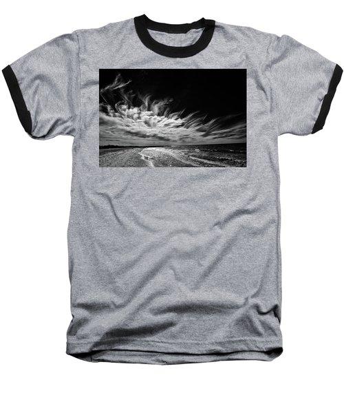 Streaming Clouds Baseball T-Shirt