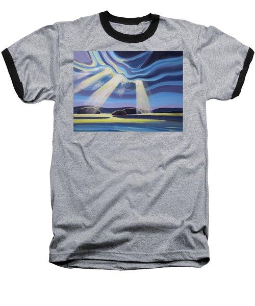 Streaming Light  Baseball T-Shirt