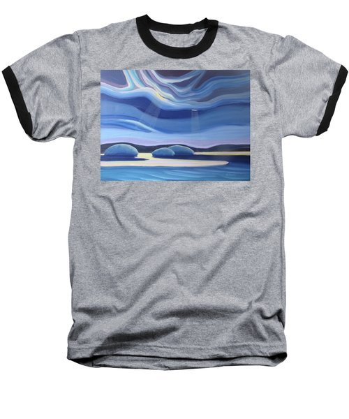 Streaming Light II Baseball T-Shirt