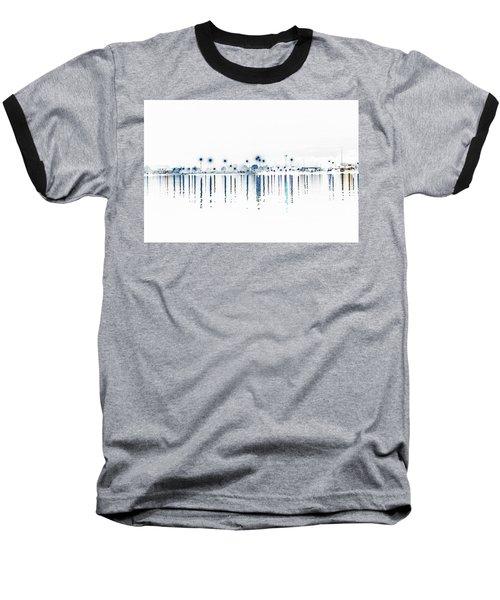 Streaming Lights Baseball T-Shirt