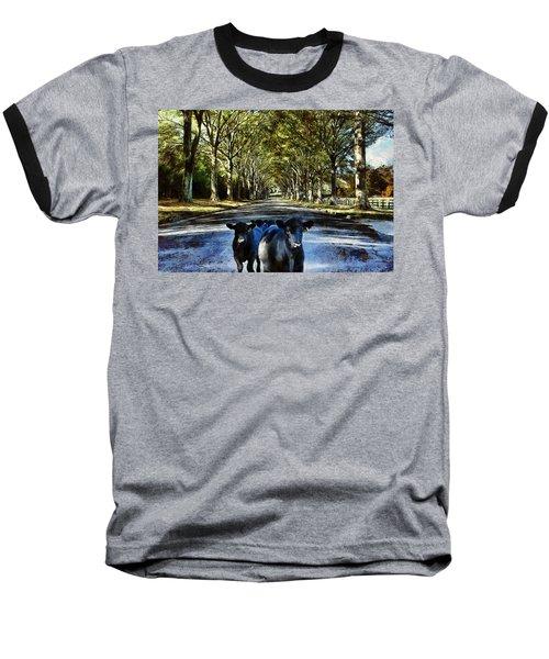 Street Cows Baseball T-Shirt
