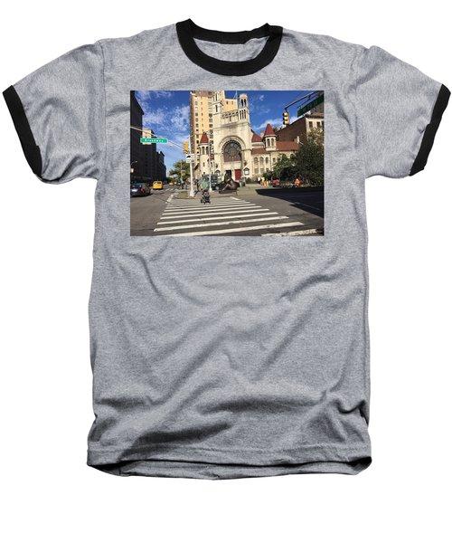 Street Crossing Baseball T-Shirt