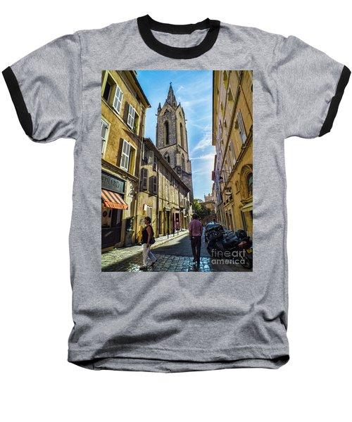 Street In Aix Baseball T-Shirt
