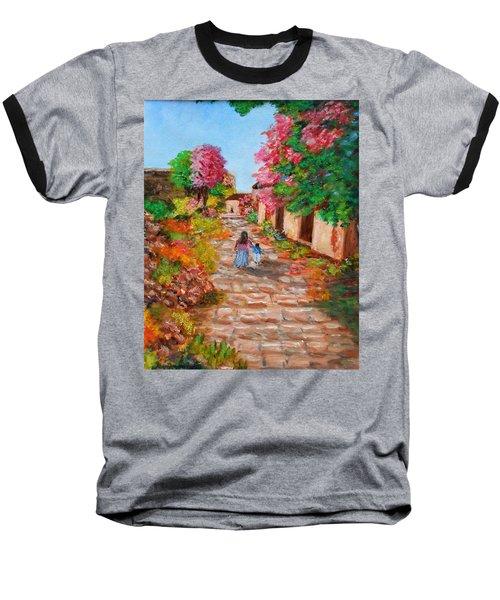 Street In Monemvasia Baseball T-Shirt